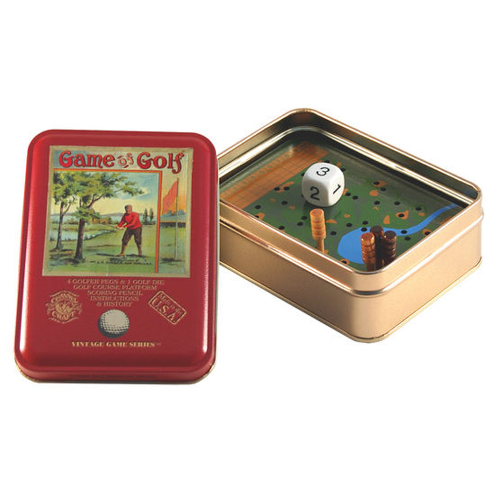Channel Craft Game of Golf Vintage Game Tin Toy Golf Game ( Made in USA)