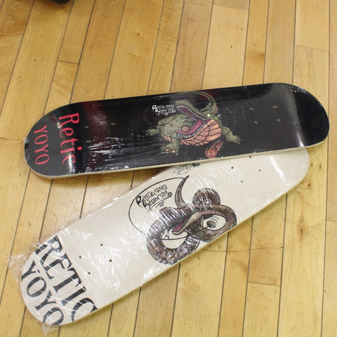 Retic Yoyo Skateboard Deck - Professional Deck Constructed from Top Quality 7-ply Maple Wood
