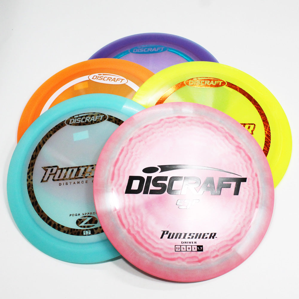 Discraft Punisher Disc Golf- Distance Driver - Many Styles! Colors and Weight may Vary (164-173g) Sold Individually - YoYoSam