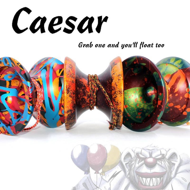 MonkeyfingeR Caesar Helium Edition Yo-Yo - Faster Lighter Competition Ready YoYo - YoYoSam