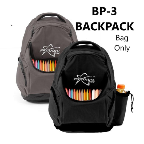 Prodigy BP-3 Disc Golf Back Pack - Small Backpack - Holds up to 17 Golf Discs