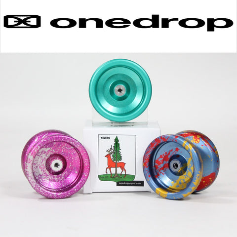 One Drop Yelets Yo Yo - Aluminum Ultra Light - Pocket Friendly Yo-Yo - YoYoSam