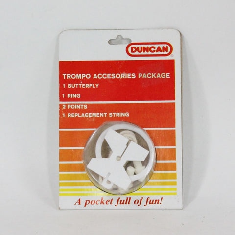 Duncan Trompo Spin Top Replacement Kit -String, Tips, Button