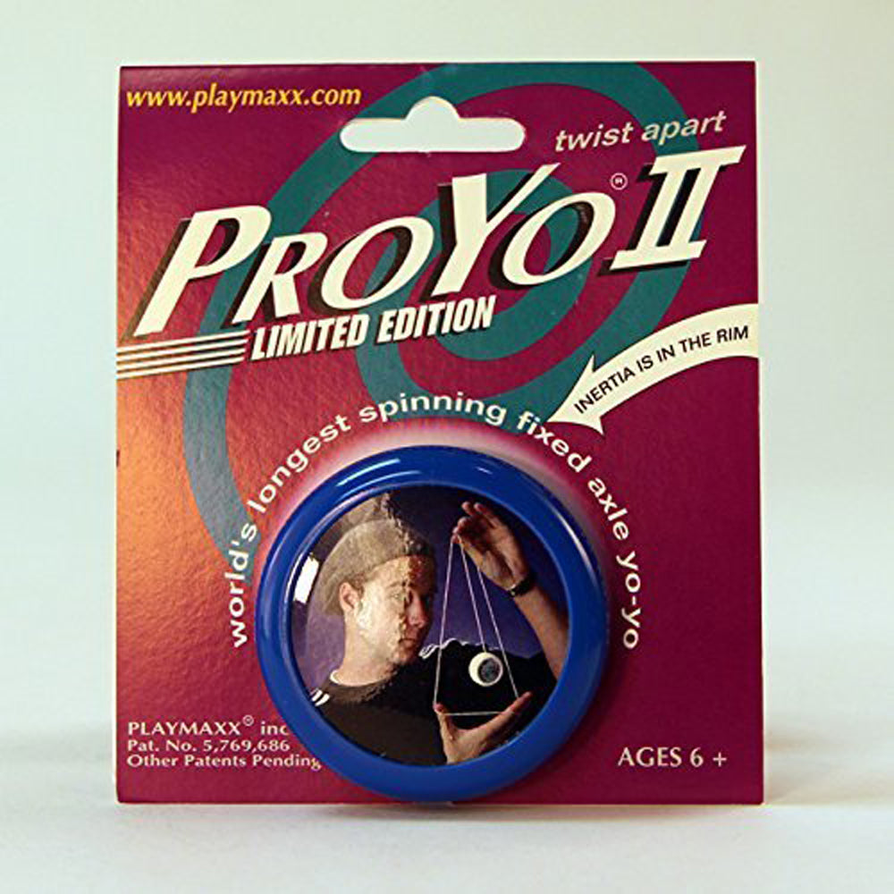ProYo II Limited Edition Yo-Yo - Collectible with Yo Hans (Colors Vary)