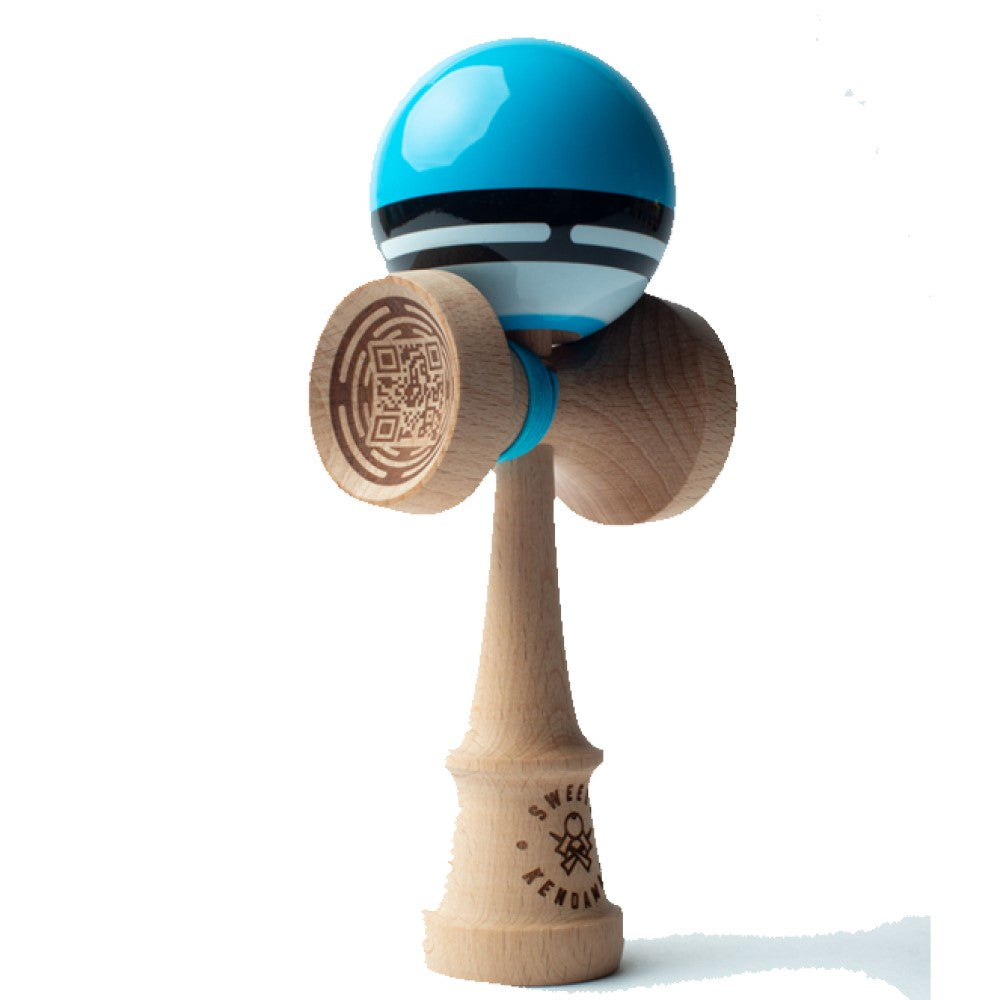 Sweets Kendamas Boost Radar- Sport Stripe Kendama - Sticky Paint