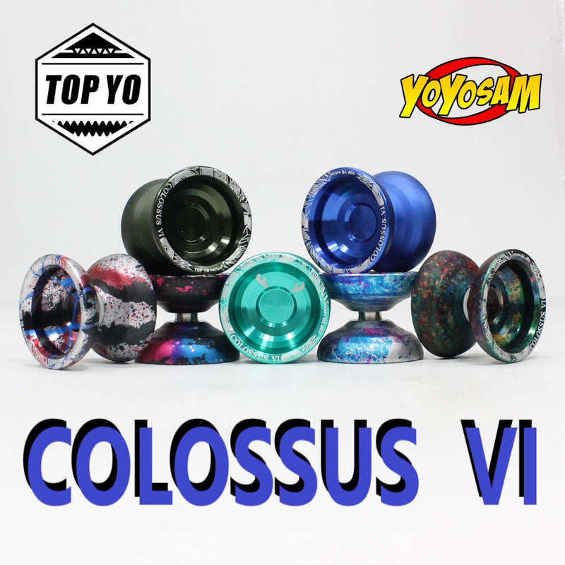 TOP YO Colossus VI Yo-Yo - Sixth Generation - YoYo - YoYoSam