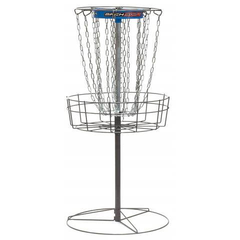 DGA Mach Shift 3-in-1 Portable Disc Golf Basket - 16 Chain - PDGA Approved - YoYoSam