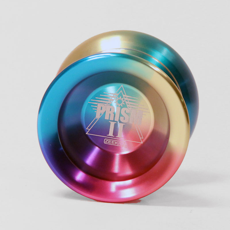 Zeekio Prism II, Rainbow Anodized Aluminum Yo-Yo - High Performance - YoYoSam