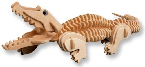 3D Puzzle - Wood Craft Puzzle Kit. Animals, Dinosaur, or Vehicle - YoYoSam