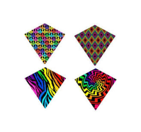 WindDiamond Nylon Diamond Kite 30""