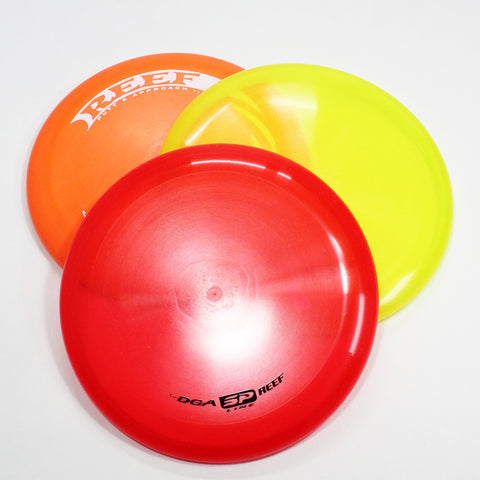 DGA Reef Disc Golf- Putt & Approach- Many Styles! Colors and Weight may Vary (150g -174g) Sold Individually - YoYoSam