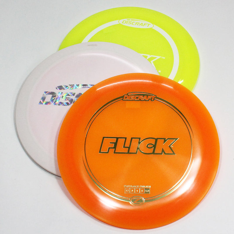 Discraft FLICK Disc Golf- Distance Driver - Many Styles! Colors and Weight may Vary (167-170g) Sold Individually - YoYoSam