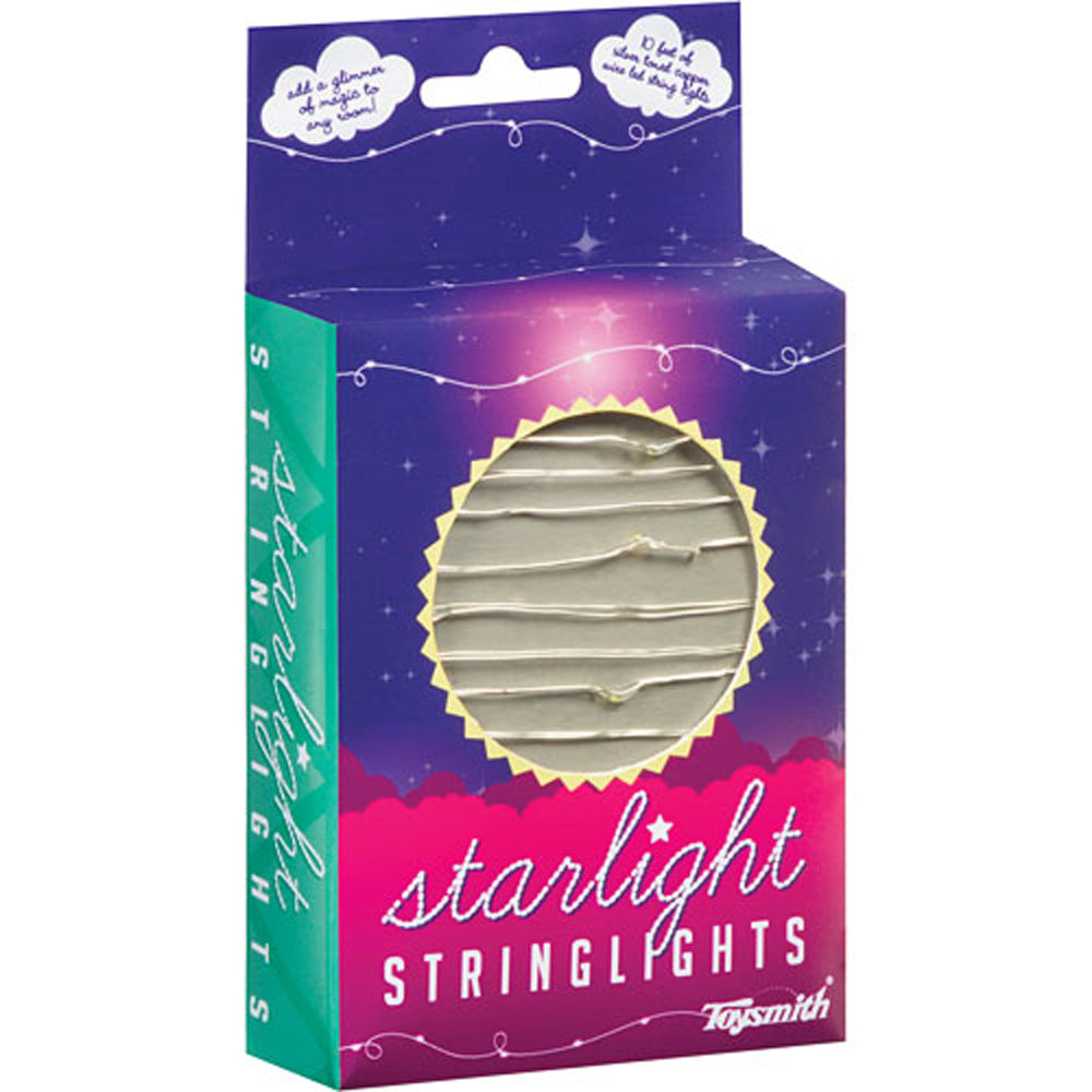 Toysmith Starlight String Lights - 10 feet
