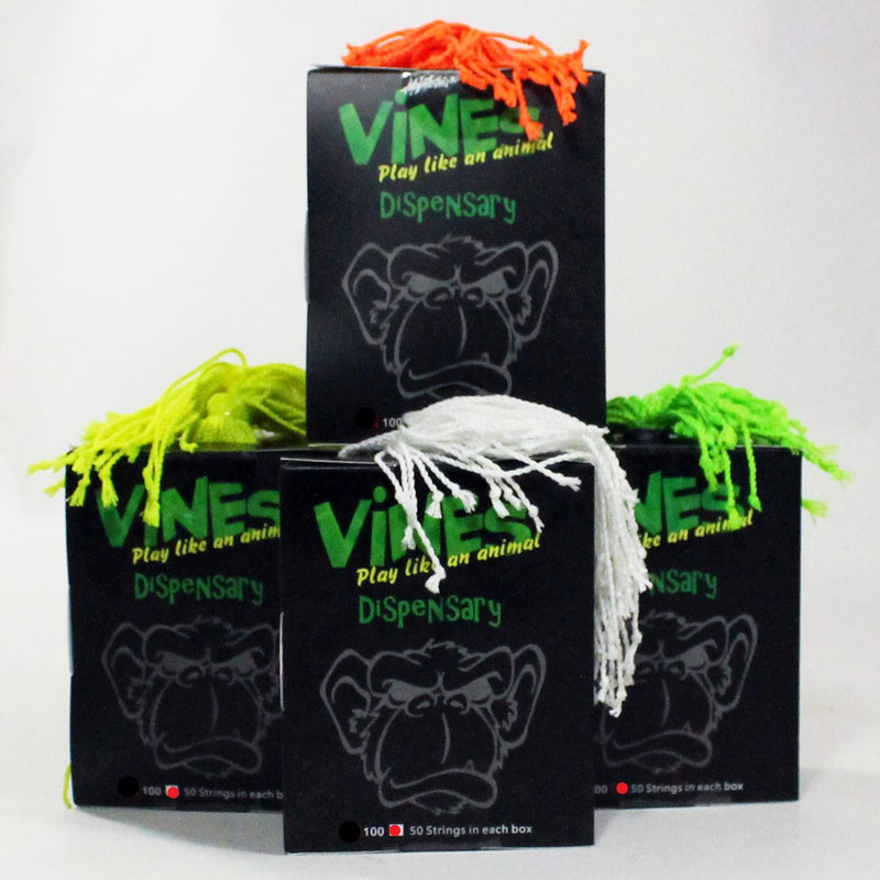 MonkeyfingeR Vines 50 Pack - Normal - Extra Long - Polyester Yo Yo String