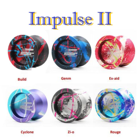 TOP YO Impulse II Yo-Yo - Second Generation - 7003 Aluminum YoYo