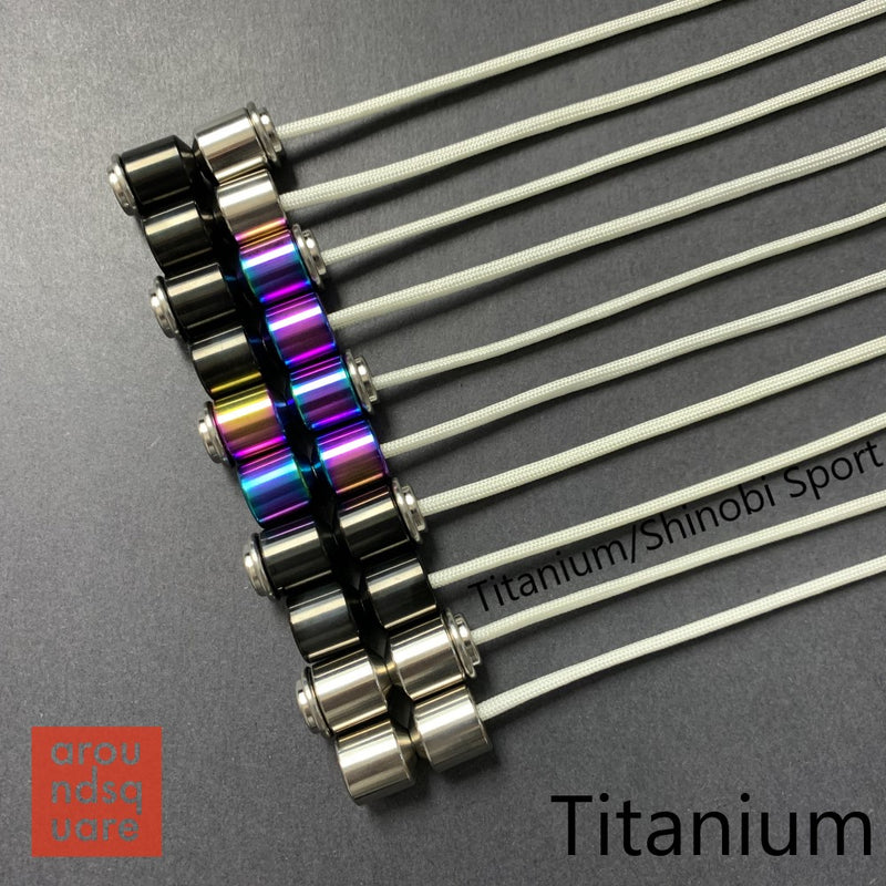 AroundSquare Everyman Titanium Mini Begleri - Small - YoYoSam