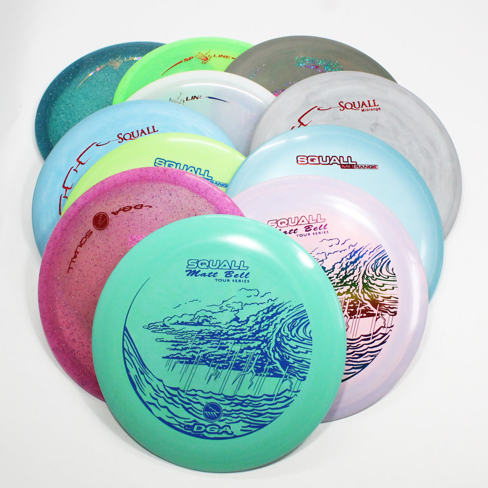 DGA Squall Disc Golf- Midrange- Many Styles! Colors and Weight may Vary (150g -177g) Sold Individually - YoYoSam