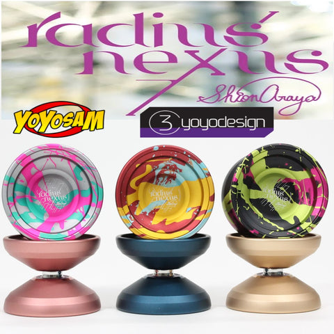 C3yoyodesign Radius Nexus Yo-Yo - World Champion Shion Araya Signature YoYo