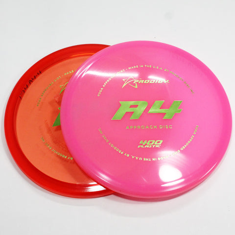 Prodigy A4 400 Disc Golf- Approach Disc- Many Styles! Colors and Weight may Vary (170g -174g) Sold Individually