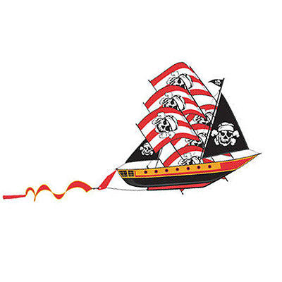 WindNSun 3D Pirate Ship 72 inch Kite - YoYoSam