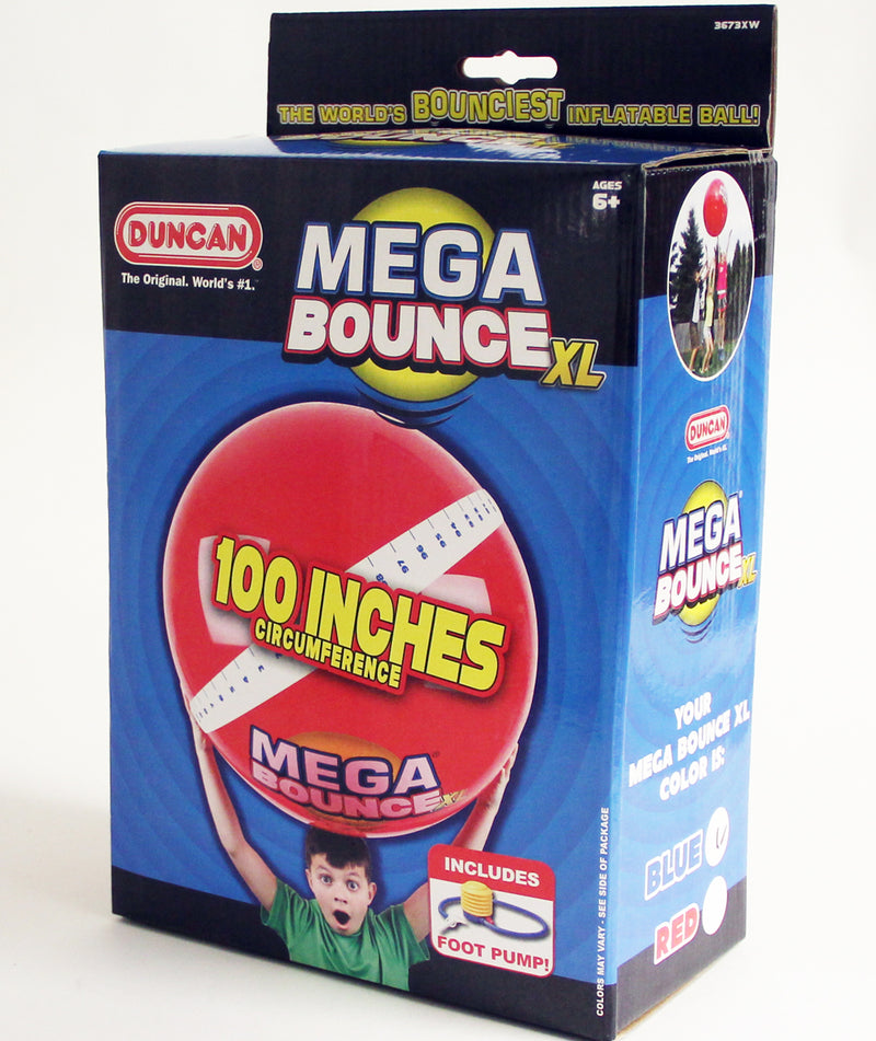 Duncan Mega Bounce Big Fun XL Ball with Foot Pump