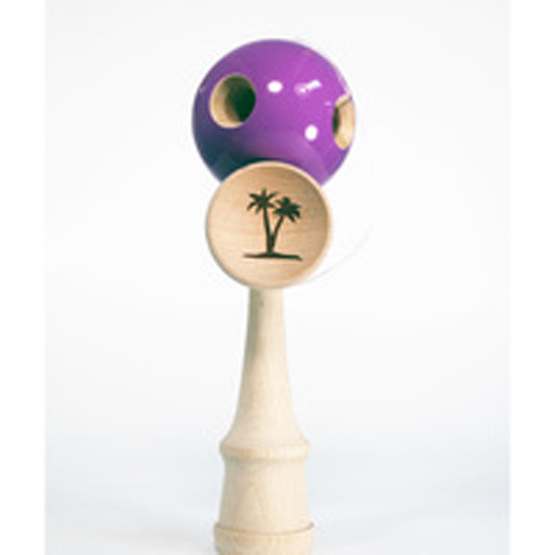 The Original Bahama Kendama Grand Kendama - 5 Hole - Purple