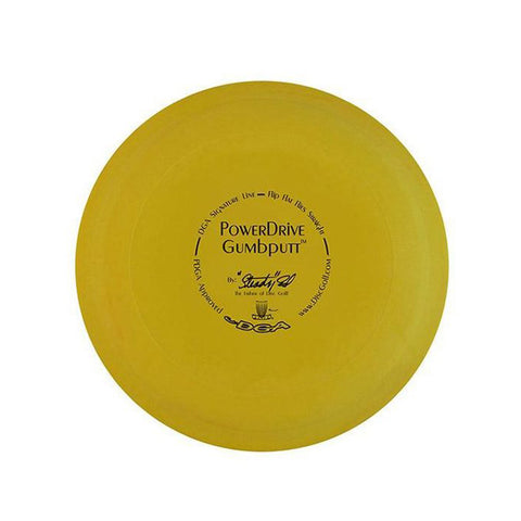 DGA POWERDRIVE GUMBPUTT 2-2-0-2 PUTT & APPROACH DISC GOLF 167g-174g Color May Vary - YoYoSam