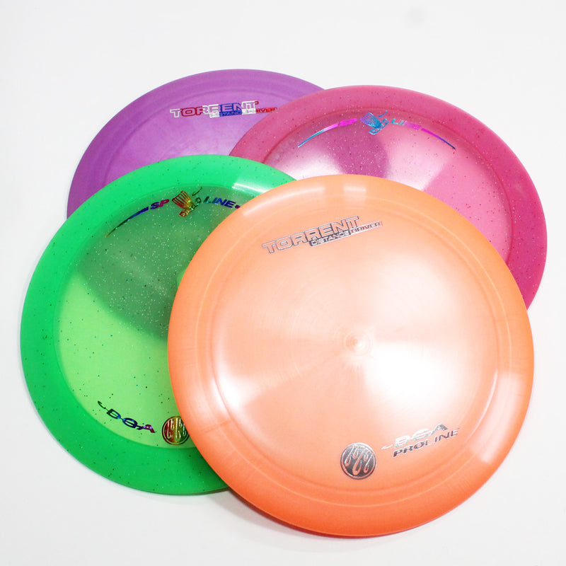 DGA Torrent Disc Golf- Distance Driver- Many Styles! Colors and Weight may Vary (167g -174g) Sold Individually - YoYoSam