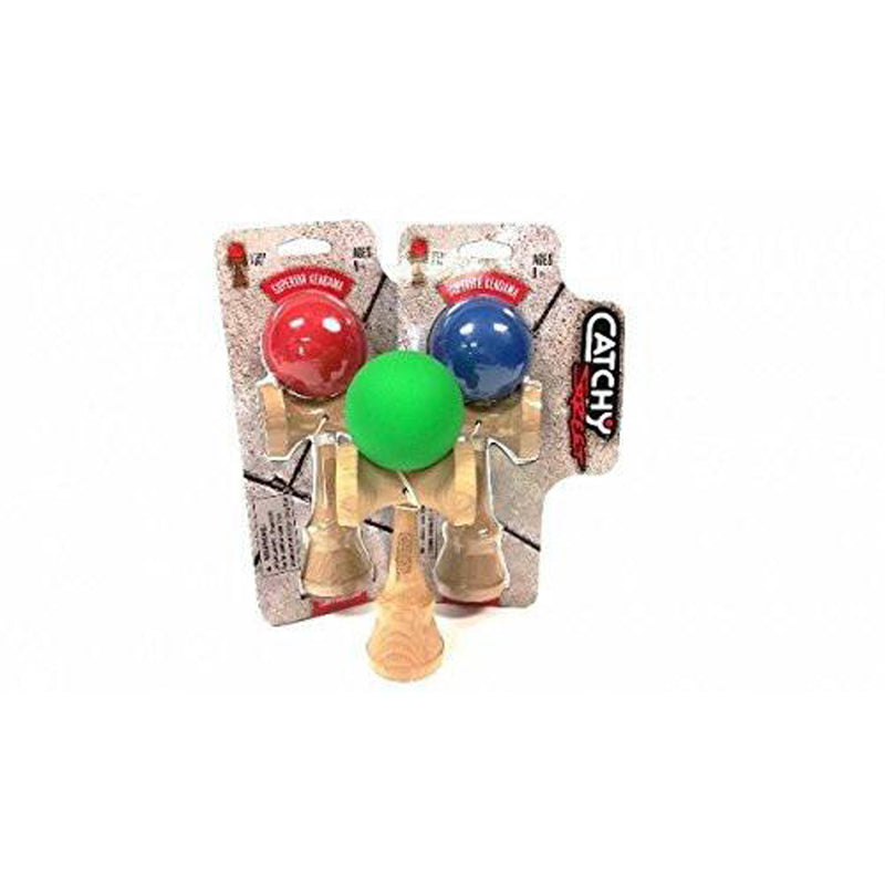 YoYoFactory Catchy Street Kendama with Sticky Paint (Colors Vary) - YoYoSam