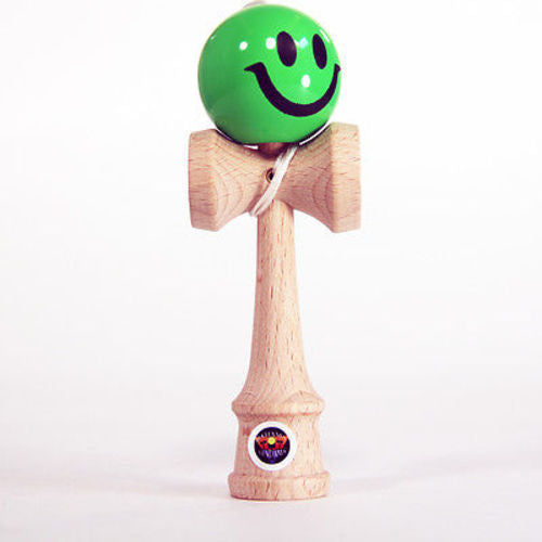 "Bahama Kendama Smiley Face - 4.5"" Pocket Kendama - YoYoSam"