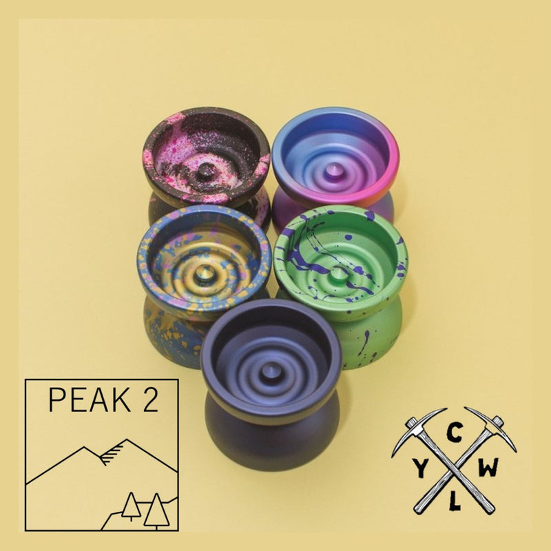 CLYW Peak 2 Yo-Yo - Classic Design with Modern Performance YoYo - by Caribou Lodge Return Tops - YoYoSam