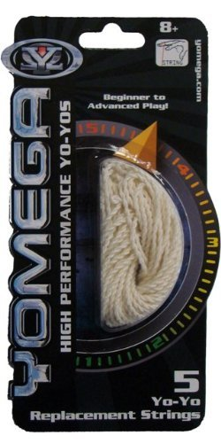 Yomega Formula 5 Yo-yo Replacement String - White - YoYoSam