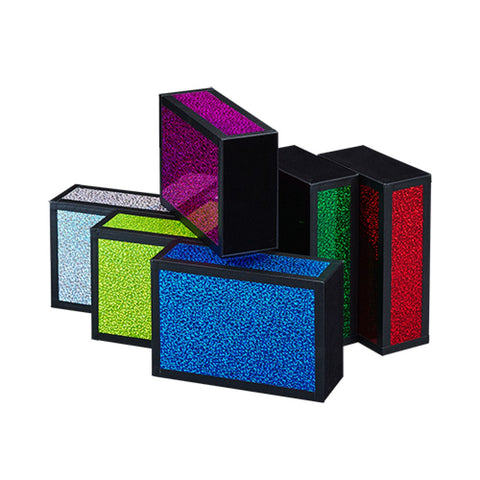 Henrys Juggling Wooden Cigar Box - Glitter Colors with Black Tape - YoYoSam
