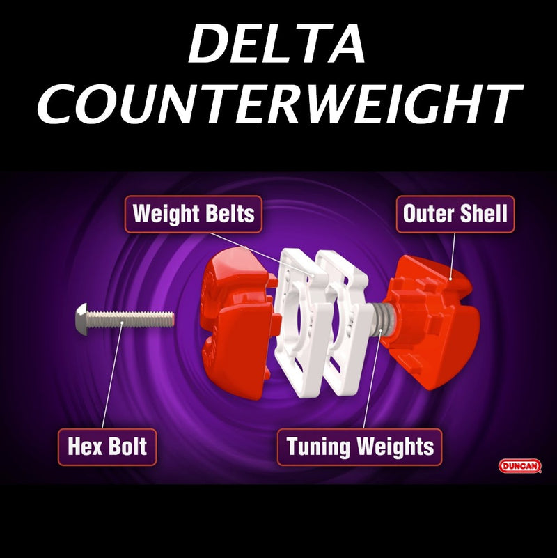Duncan Delta Adjustable Weight Yo Yo Counterweight - YoYoSam