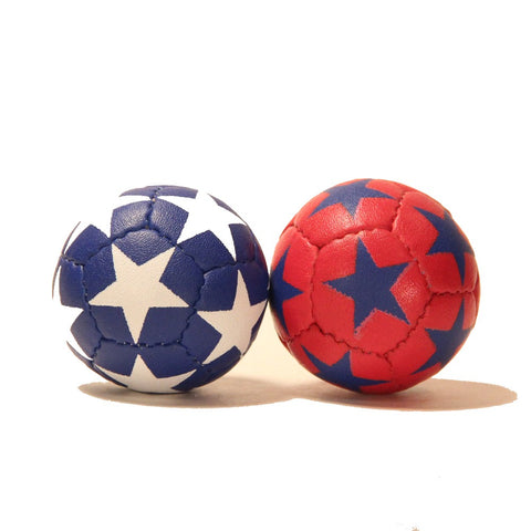 Zeekio Satellite Juggling Ball Set of 3 - Millet filled-67mm-125g - Great Grip - 12 Panel- 3 Ball