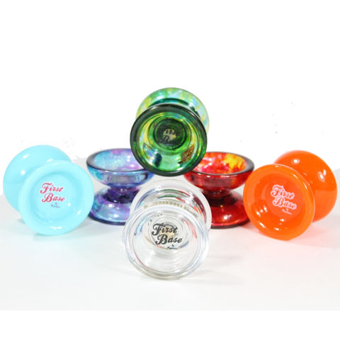 Recess YoYo FIRST BASE YO-YO -Plastic- Beginner to Pro- Extra Bearing and String