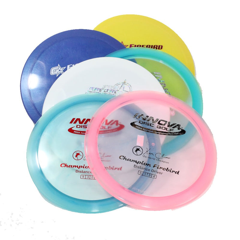 Innova FireBird Disc Golf- Distance Driver - Many Styles! Colors and Weight may Vary (168g -175g) Sold Individually - YoYoSam