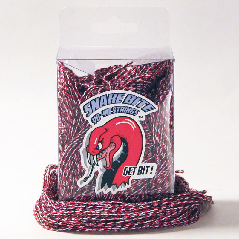Snake Bite Yo-Yo Strings - 100% Polyester FAT Strings - 100 pack - YoYoSam