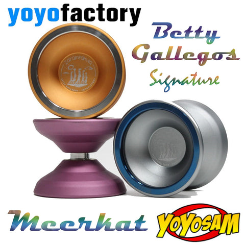 YoYoFactory Meerkat Yo-Yo - Signature YoYo of World Champion Betty Gallegos