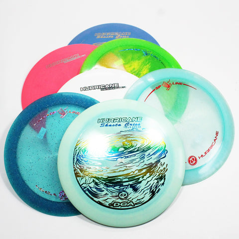 DGA Hurricane Disc Golf- Distance Driver- Many Styles! Colors and Weight may Vary (170g -174g) Sold Individually - YoYoSam