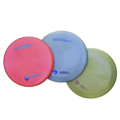 DGA Disc Golf Set of 3 - ProLine Pack - Colors May Vary - YoYoSam