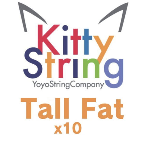 Kitty String 10 Pack Yo-Yo Strings TALL FAT - YoYoSam