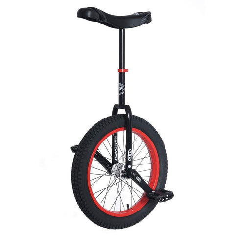 Impact 19'' Athmos Unicycle Black- RED Rims -High Performance Unicycle - YoYoSam