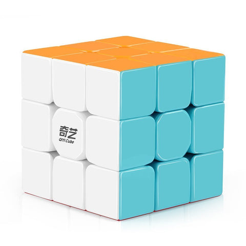 QiYi Puzzle Cube - Warrior W 3x3 Stickerless Cube with Bonus Mini Cube