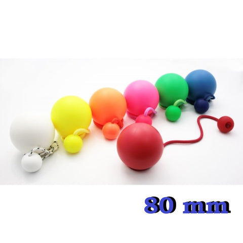 Play Pair of Contact Poi Pro with 80mm Stage Ball