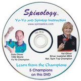 Spintastics DVD Spinology - Yo-Yo and Spintop Instruction - YoYoSam