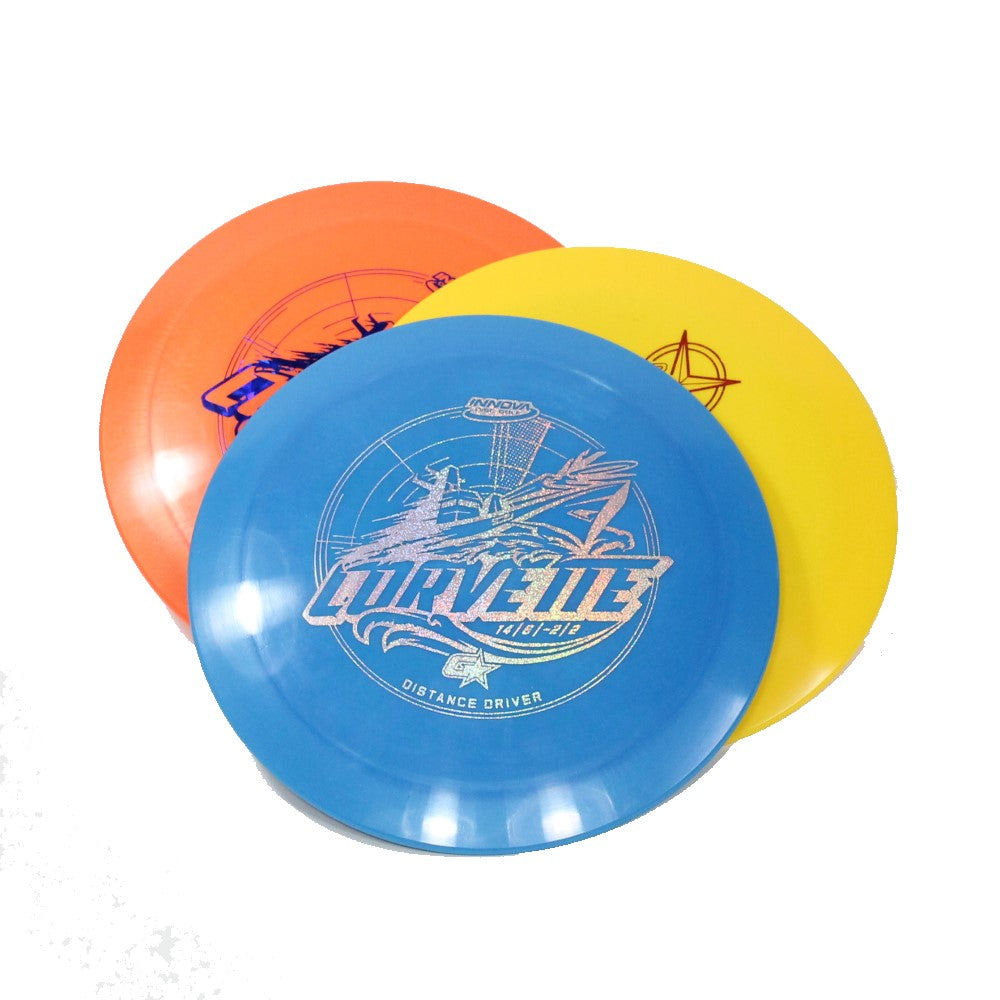 Innova Corvette Disc Golf- Distance Driver - Many Styles! Colors and Weight may Vary (172g -175g) Sold Individually - YoYoSam