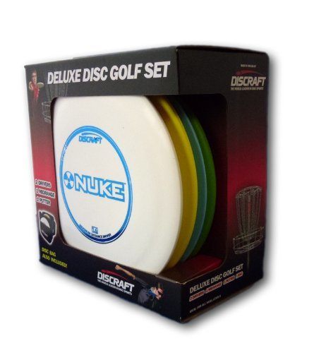 Discraft Deluxe Disc Golf Set (4 Disc and Bag) - YoYoSam