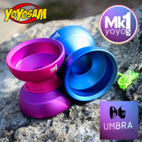 MK1 yoyos Umbra Yo-Yo - Light Weight -Ultra Wide -7068 Aluminum Monometal YoYo