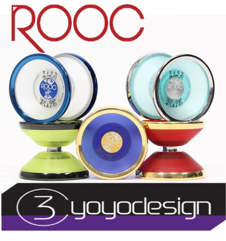C3yoyodesign ROOC Yo-Yo - Polycarbonate Body with Stainless Steel Rim - Shinya Kido Signature YoYo - YoYoSam